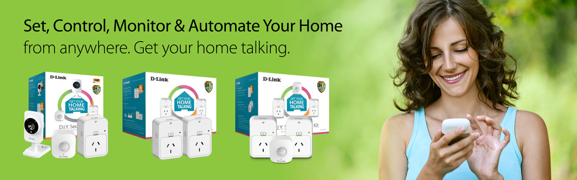 D-Link Connected Home Starter Kits