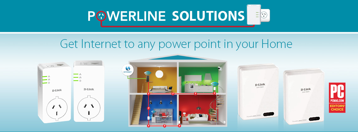 D-Link Powerline Solutions