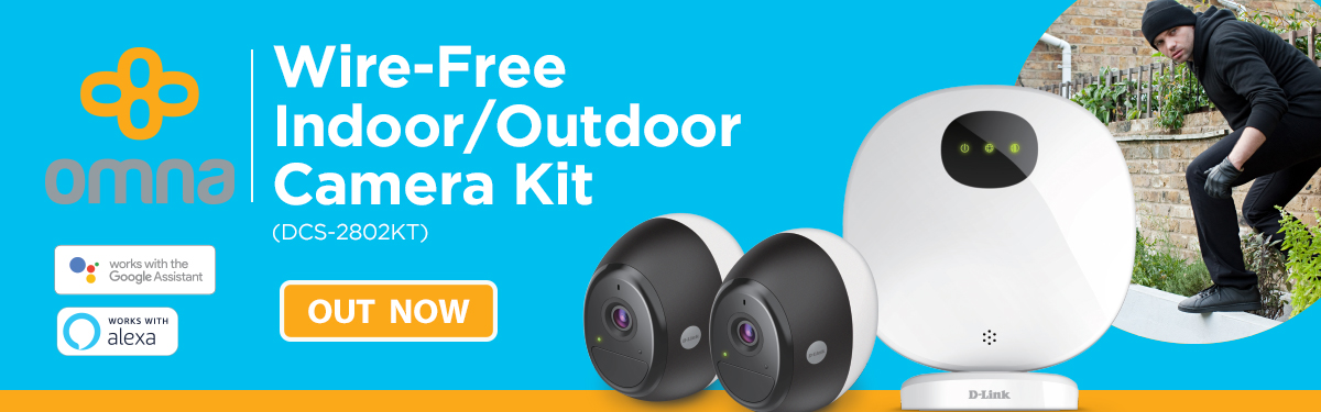 Omna Wire-Free Indoor/Outdoor Camera Kit