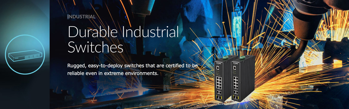 D-Link Business Industrial Switches