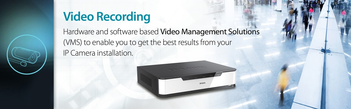 D-Link Business Video Recording