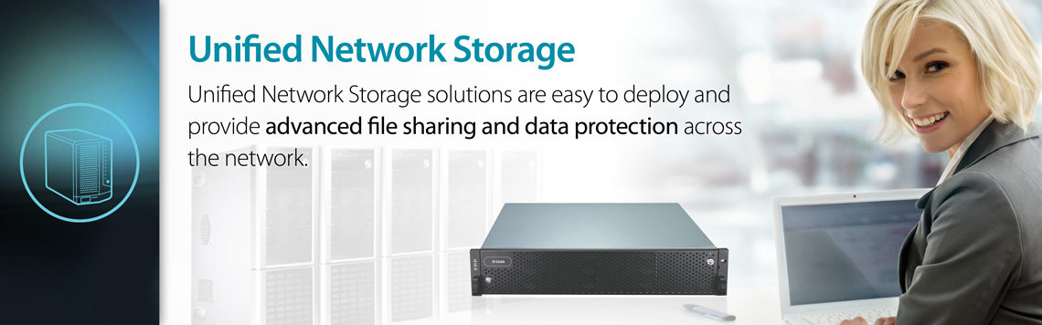 D-Link Business Unified Network Storage