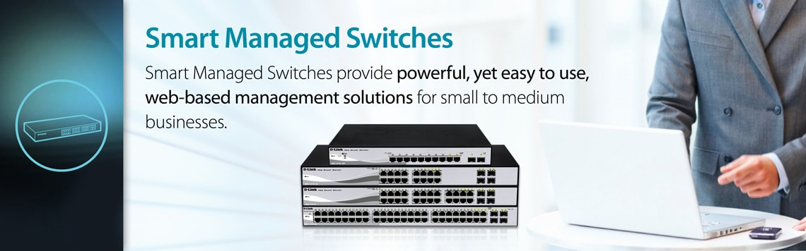 D-Link for Business SMB Smart Managed Switches