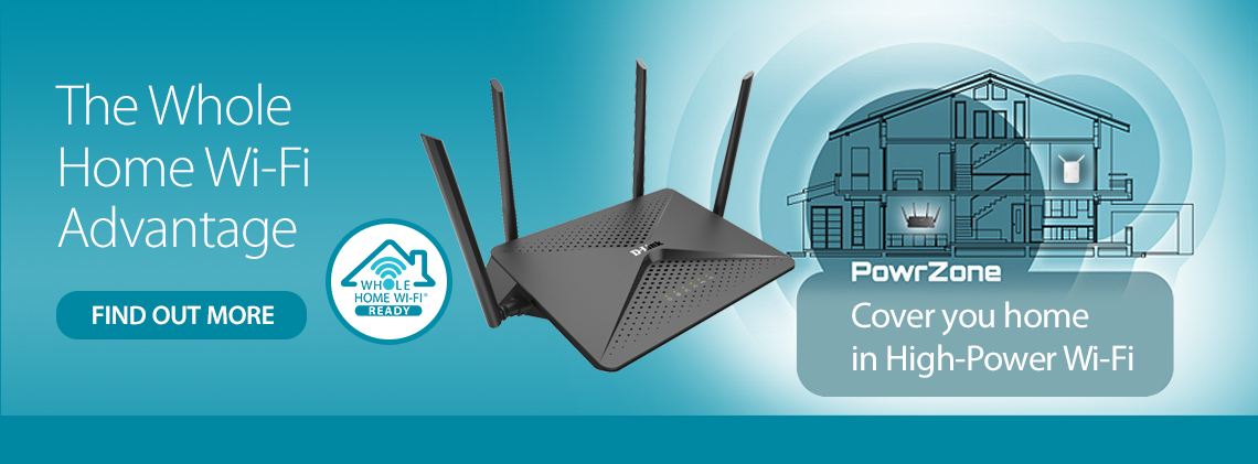 D-Link Whole Home Wi-Fi