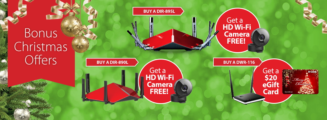 D-Link Q4 promo offers