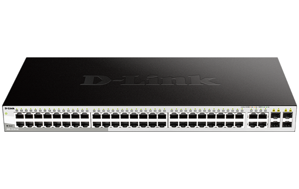 52 Port Gigabit Smart Managed Switch With 52 Rj45 Ports And 4 Sfp Combo Ports