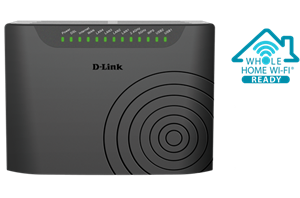 D-Link DSL-2877AL Dual Band Wireless AC750 ADSL2+/VDSL2 Modem Router