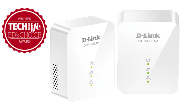 D-Link DHP-601AV PowerLine techlife award