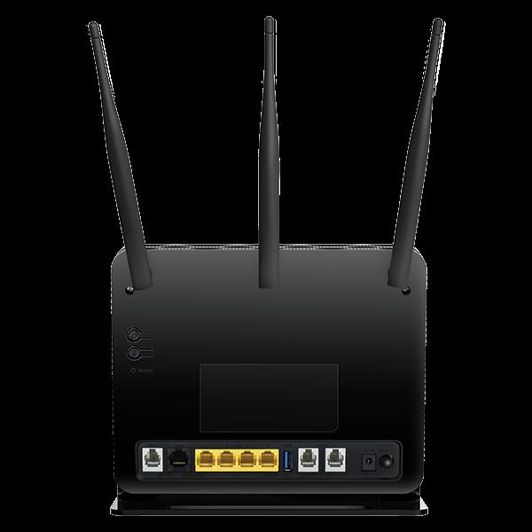 D Link Dva 2800 Dual Band Wireless Ac1600 Gigabit Adsl2