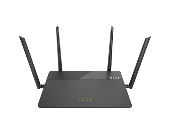 DIR-878 photo front angle D-Link AC1900 MU-MIMO Wi-Fi Router