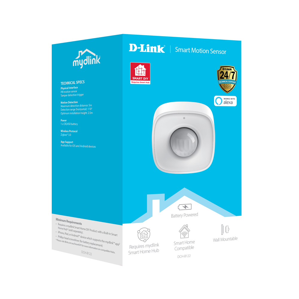D-Link Smart Motion Sensor Packaging Giftbox